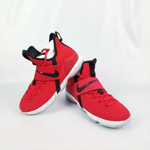 new style a0c0d bb0a2 LeBron 14 University Red (GS) 6Y